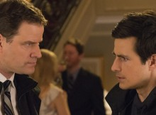 Anthony Lemke and Craig Olejnik in CTV's 'The Listener.' Photo from Bell Media.