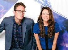 Ziya Tong and Dan Riskin on Discovery's 'Daily Planet.' Photo from Bell Media.