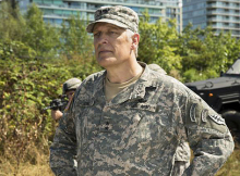 Clancy Brown as The General , 'The Flash'. Credit: The CW.
