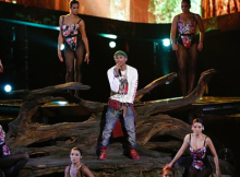Pharrell performs on The Voice Live Playoffs