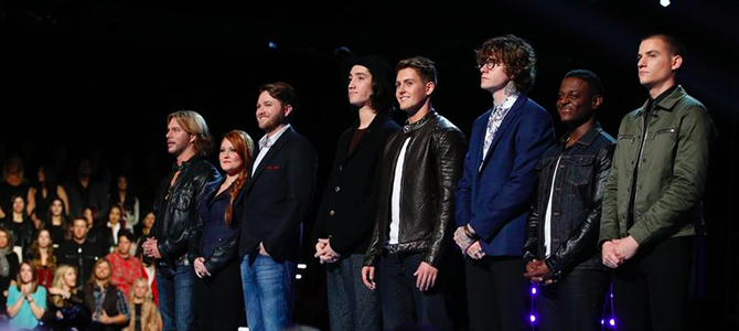 The Voice Top 5 revealed