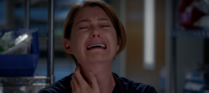meredith cry