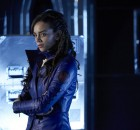 """KILLJOYS -- """"Dutch and the Real Girl"""" Episode 201 -- Pictured: Hannah John-Kamen as Dutch -- (Photo by: Steve Wilkie/Syfy/Killjoys II Productions Limited)"""