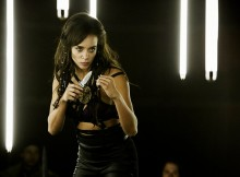 "KILLJOYS -- ""The Lion, The Witch and The Wardrobe"" Episode 304 -- Pictured: Hannah John-Kamen as Dutch -- (Photo by: Ian Watson/Killjoys III Productions Limited/Syfy)"