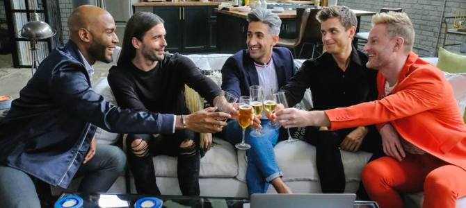 why we need shows like queer eye now more than ever the tv junkies. Black Bedroom Furniture Sets. Home Design Ideas