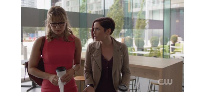 No, Kara, I think you need to be honest with Lena about ALL of the outfits you want her to see you in, not just the super suit.